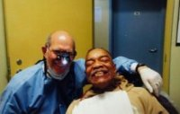 Los Angeles Christian Health Center-Dr. Werts and a grateful patient