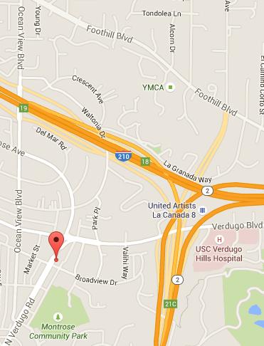 3600 N. Verdugo Rd Suite 203 Glendale, CA 91208