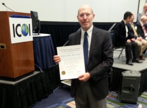 Dr Werts Receives Prestigious Fellowship Award by the International Congress of Oral Implantologists-ICOI
