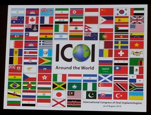 ICOI Dental Implant Conference Attendee Countries